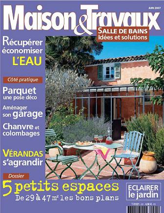 Couverture Maison Et Travaux N° 201 juin 2007