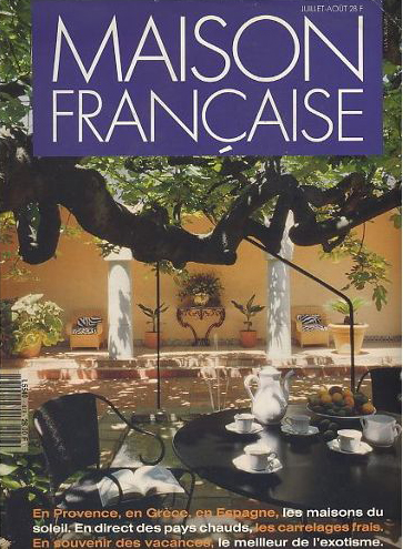 Couverture Maison Française Aout 1991 n°448