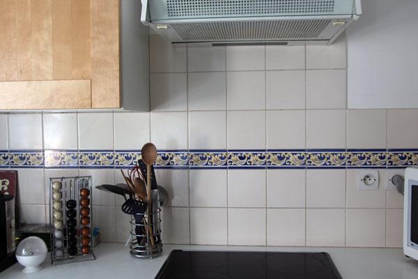 Les anges l honneur dans ce loft parisien ceramis - Credence cuisine fantaisie ...