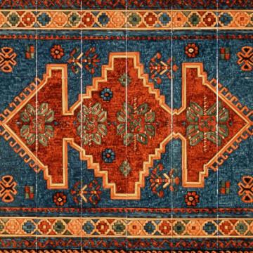 Tapis de sol en carreaux d'Azulejos